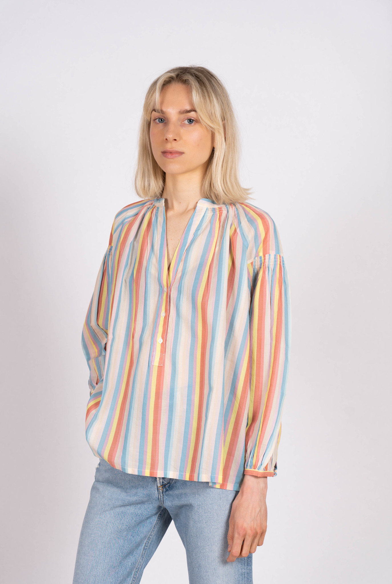 Nipoa Blouse Multicolore Stripes