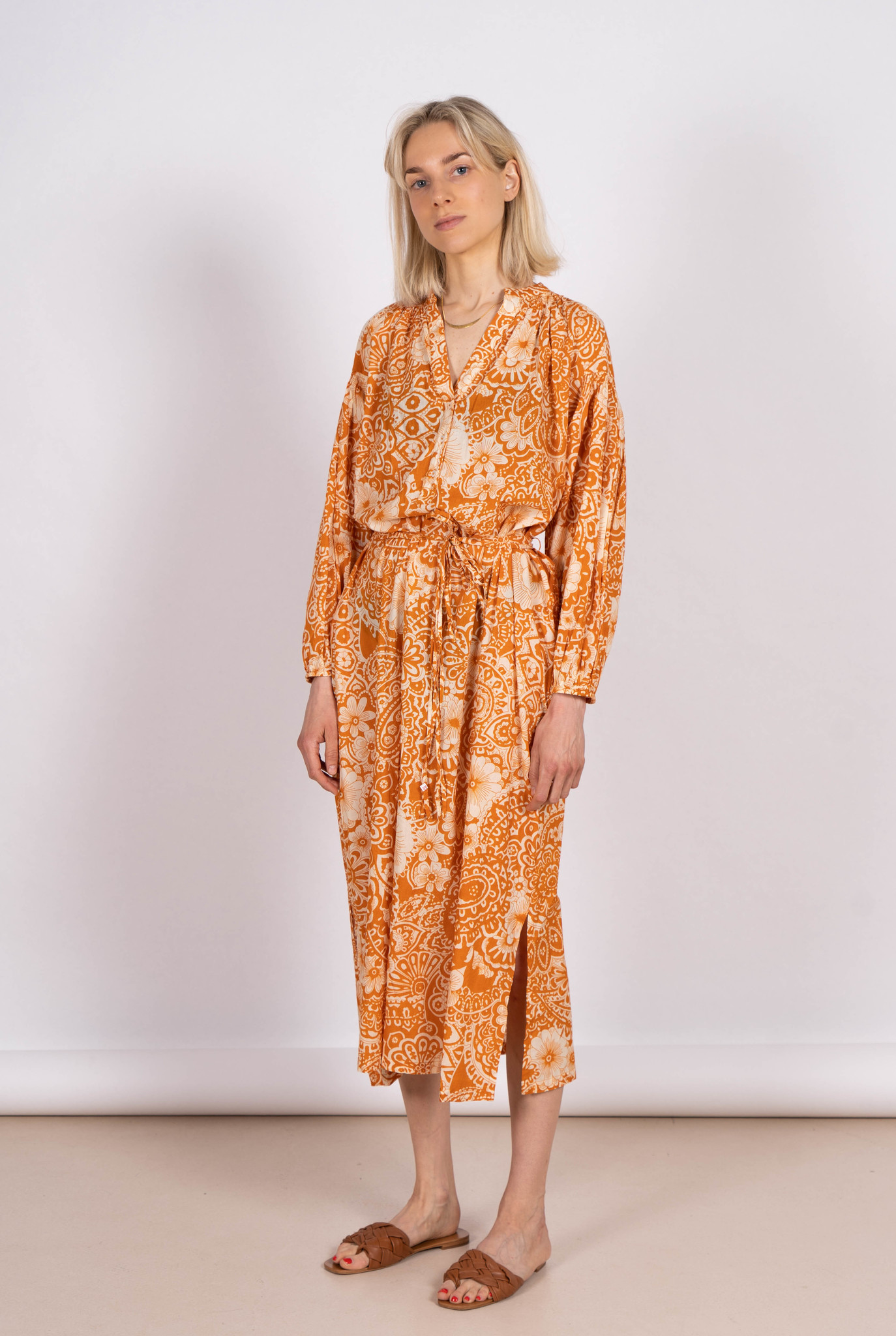 Nazaria Dress Orange