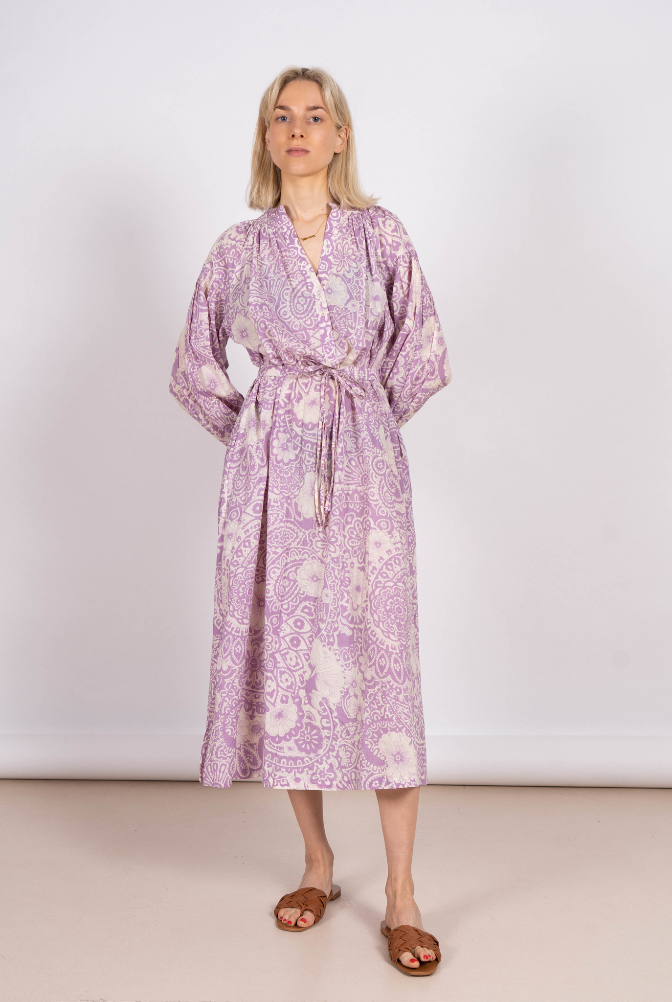 Nazaria Dress Purple