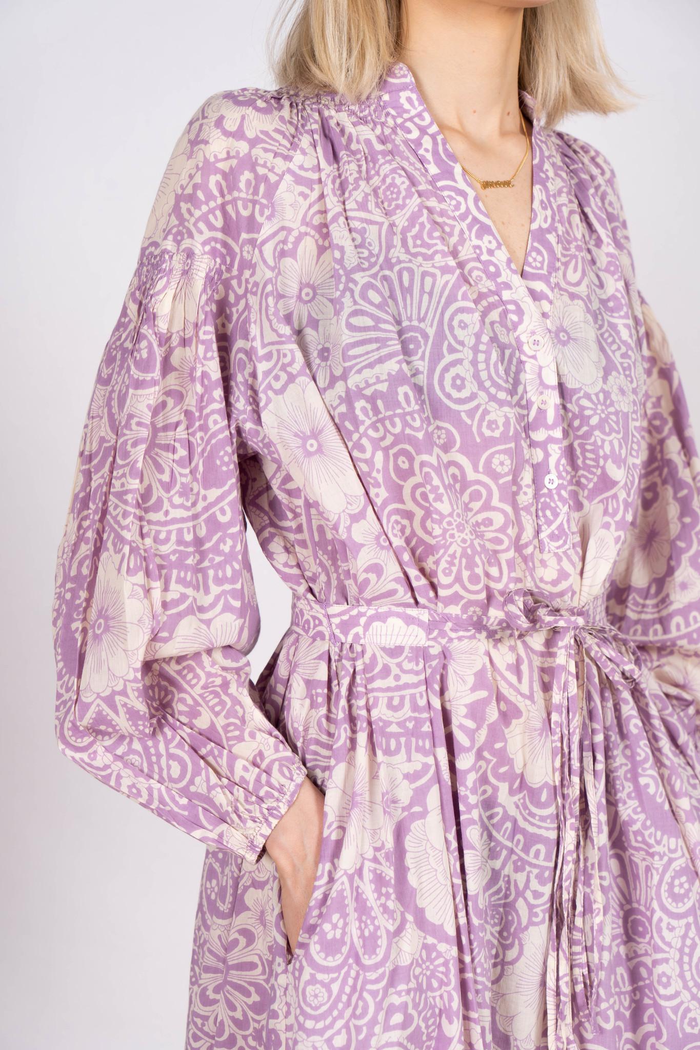 Nazaria Dress Purple