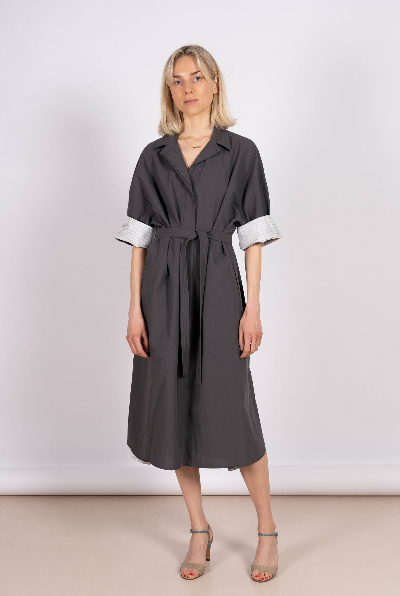 Drita Dress Titanium