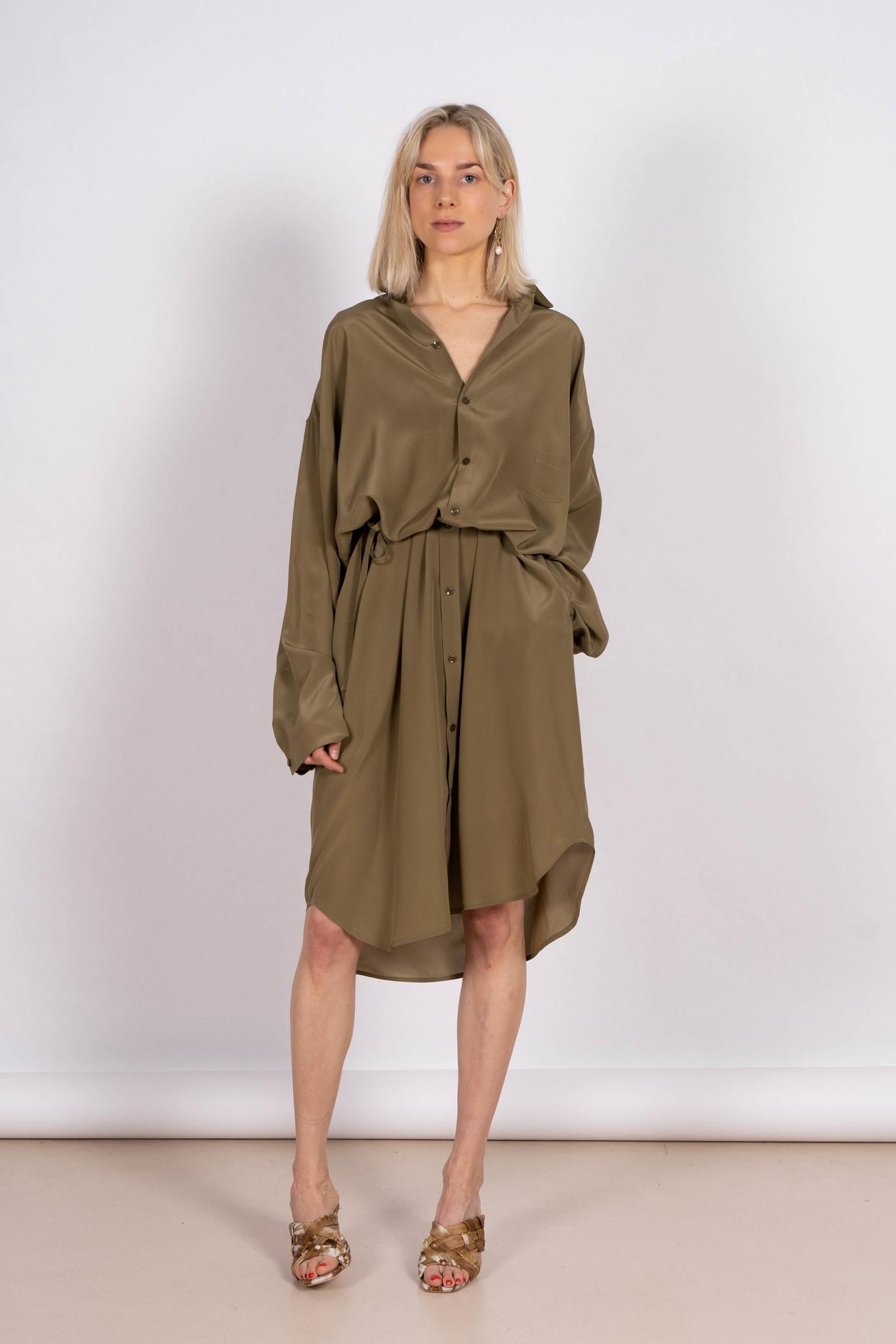 10.2 Dress Moss Silk