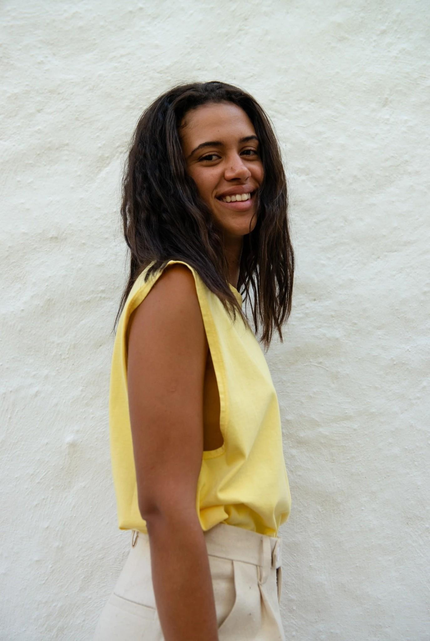 Sleeveless Simple T-shirt Sundress