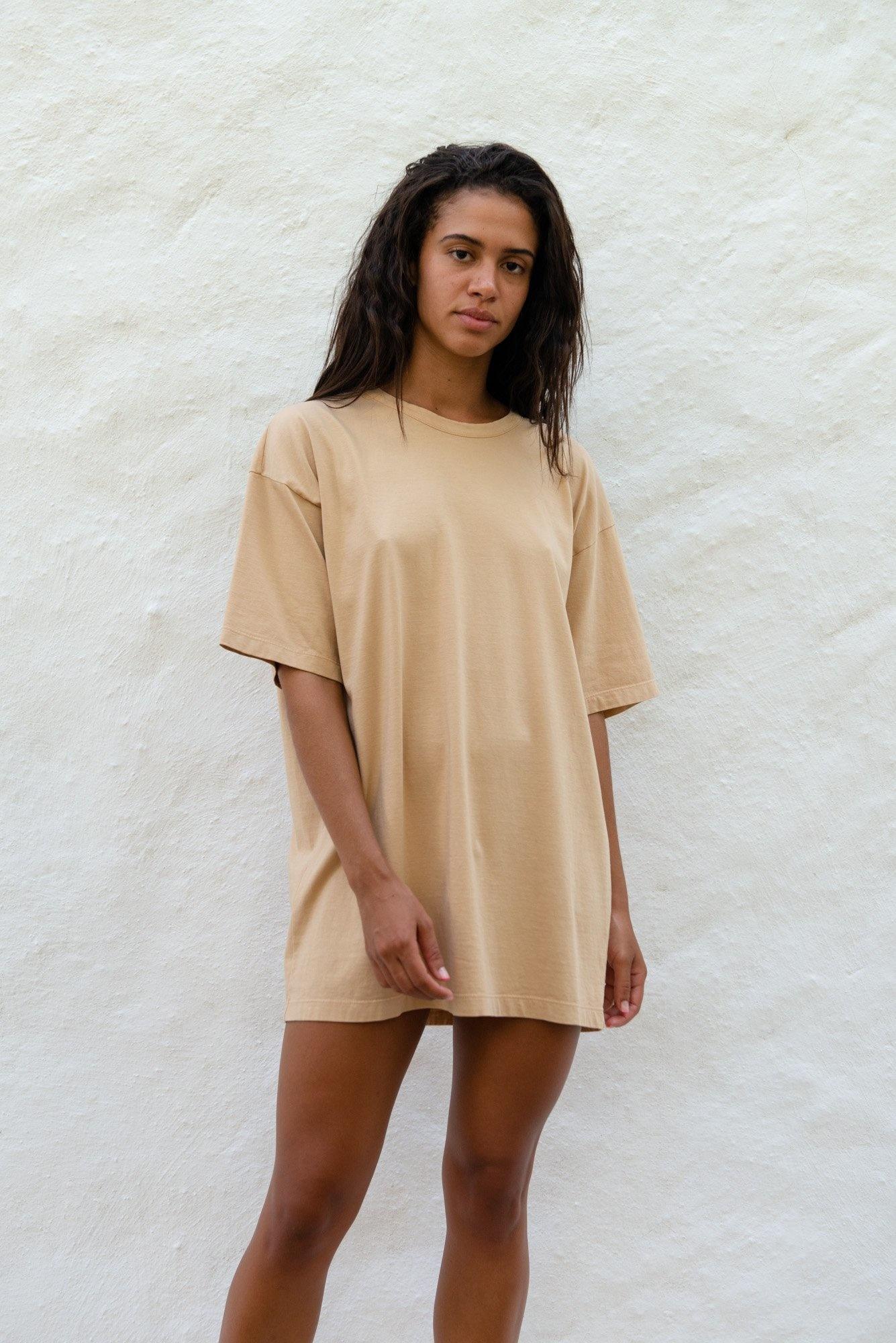 Unisex T-shirt S/S Latte