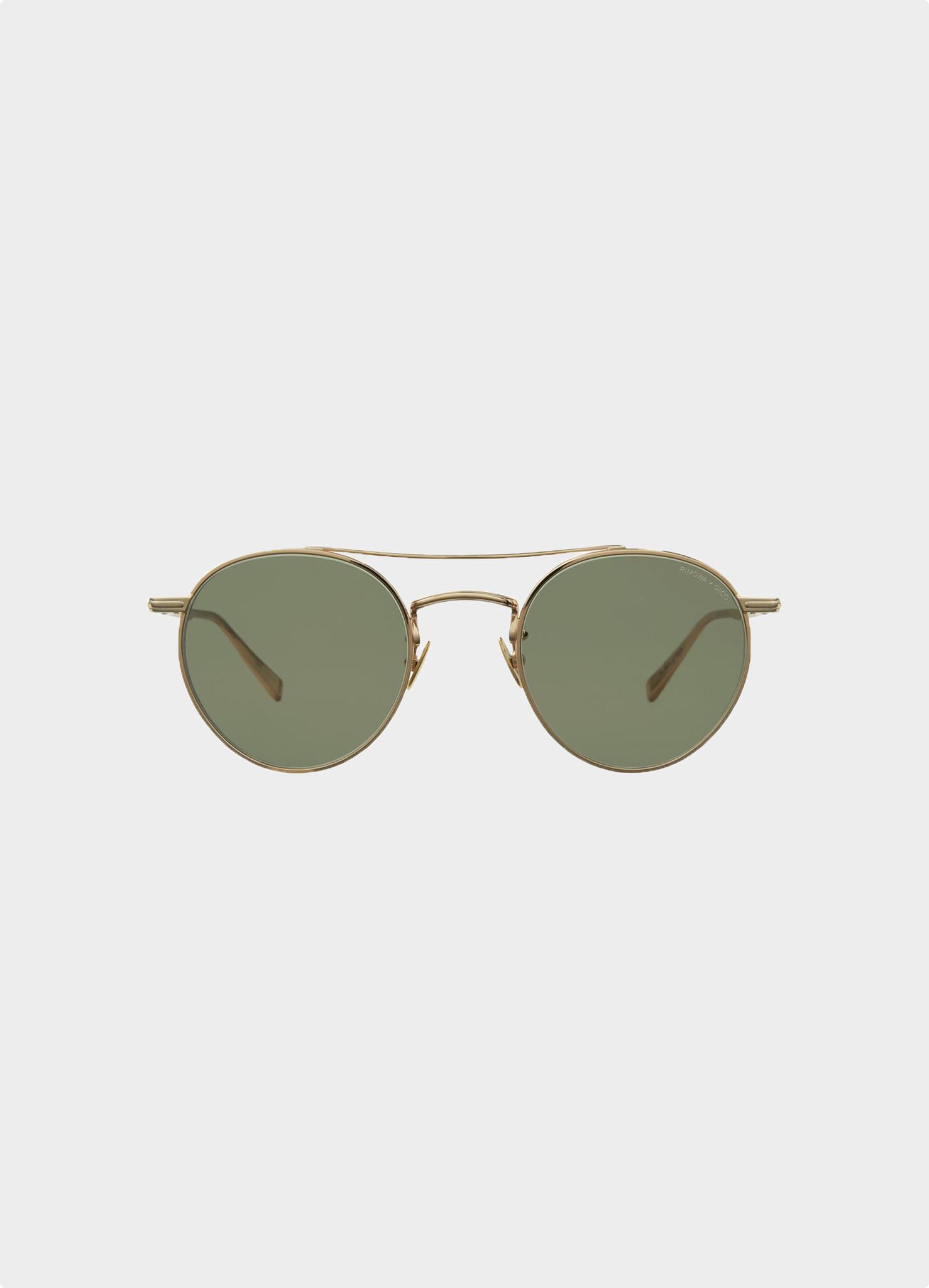RIMOWA X GLCO M 49 Gold/Semi-Flat  Green