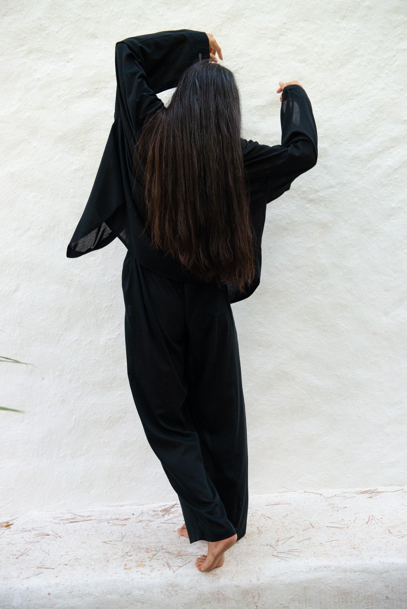 Unisex Shirt Rafael Sirio Black