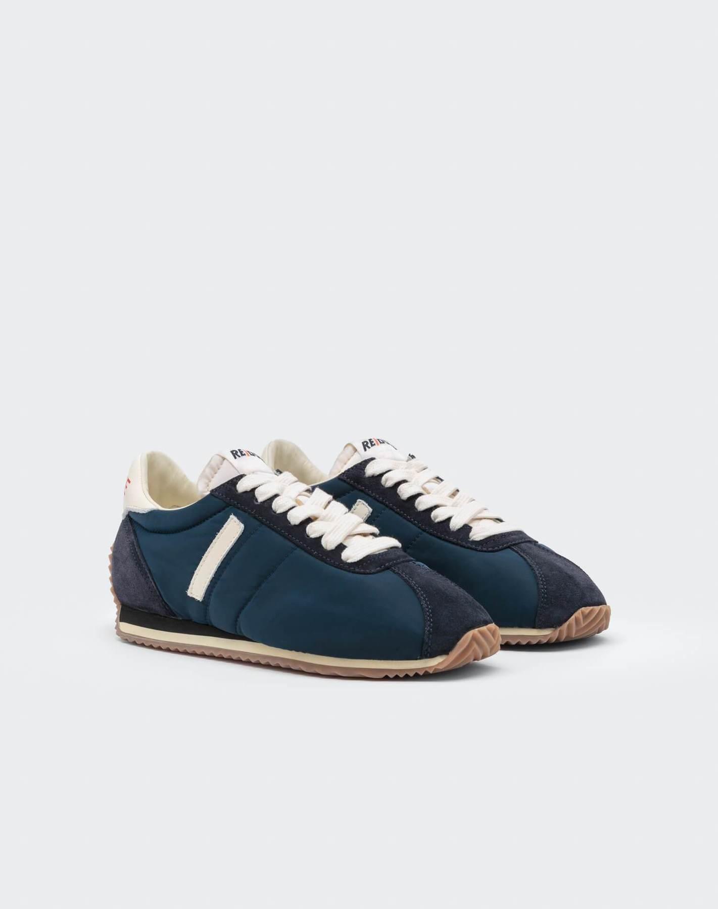 70S Runner Shoe Navy White