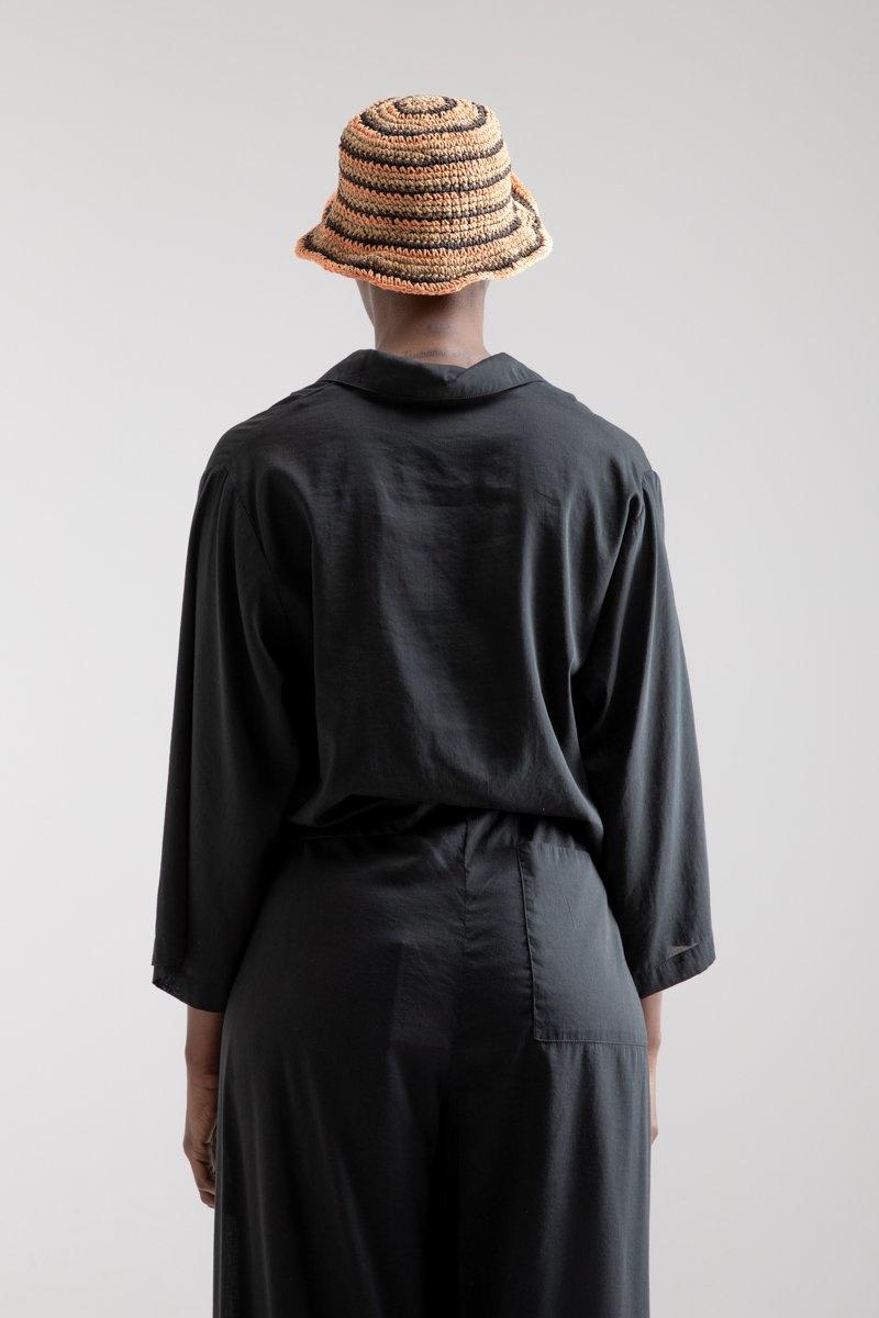 Cropped Shirt Jil Sun Black