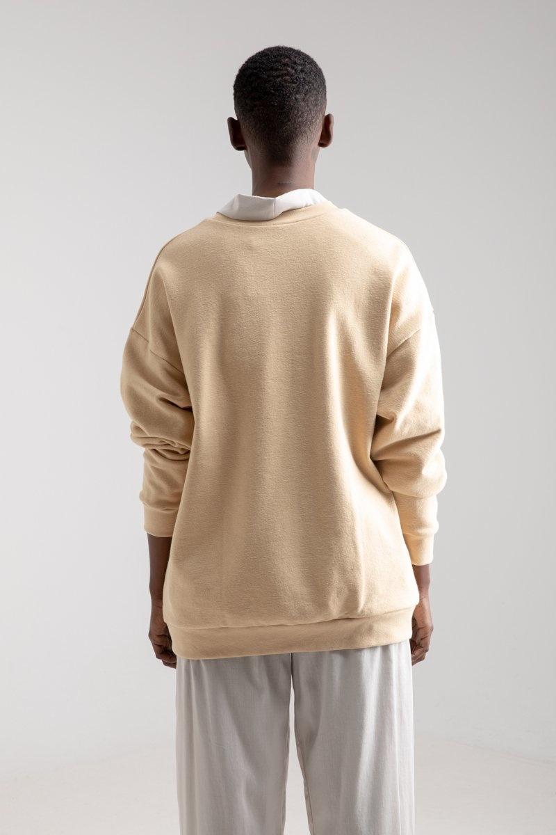 Classic Sweater Latte Japanese cotton