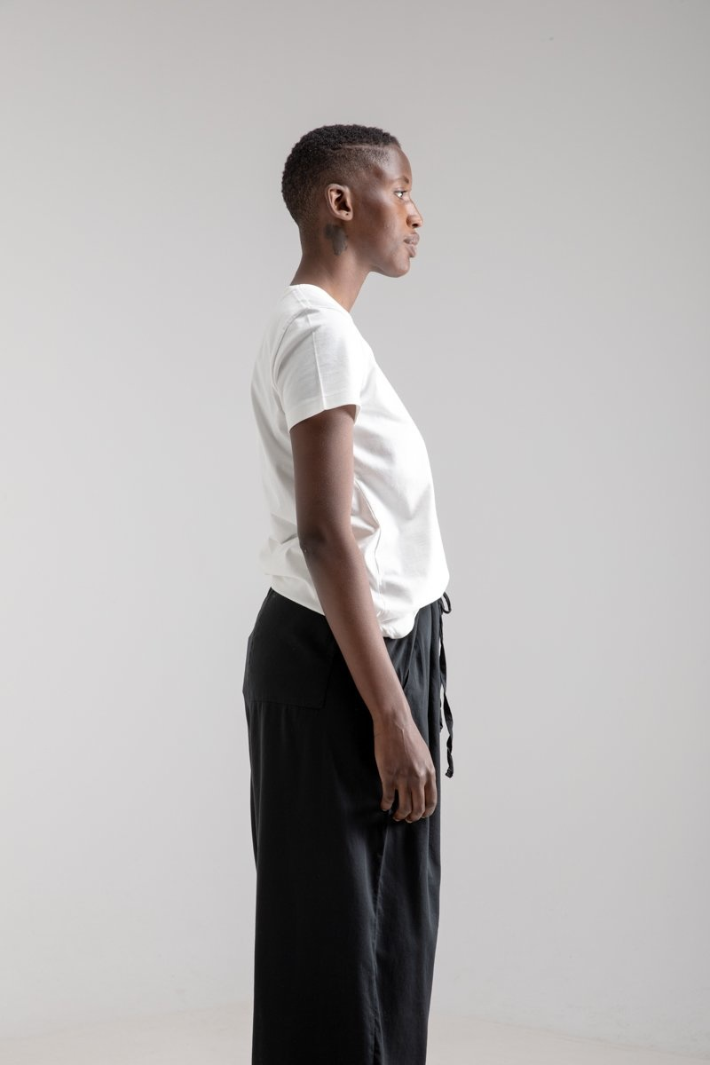 """Simple T-shirt """"Woman"""" Off White"""