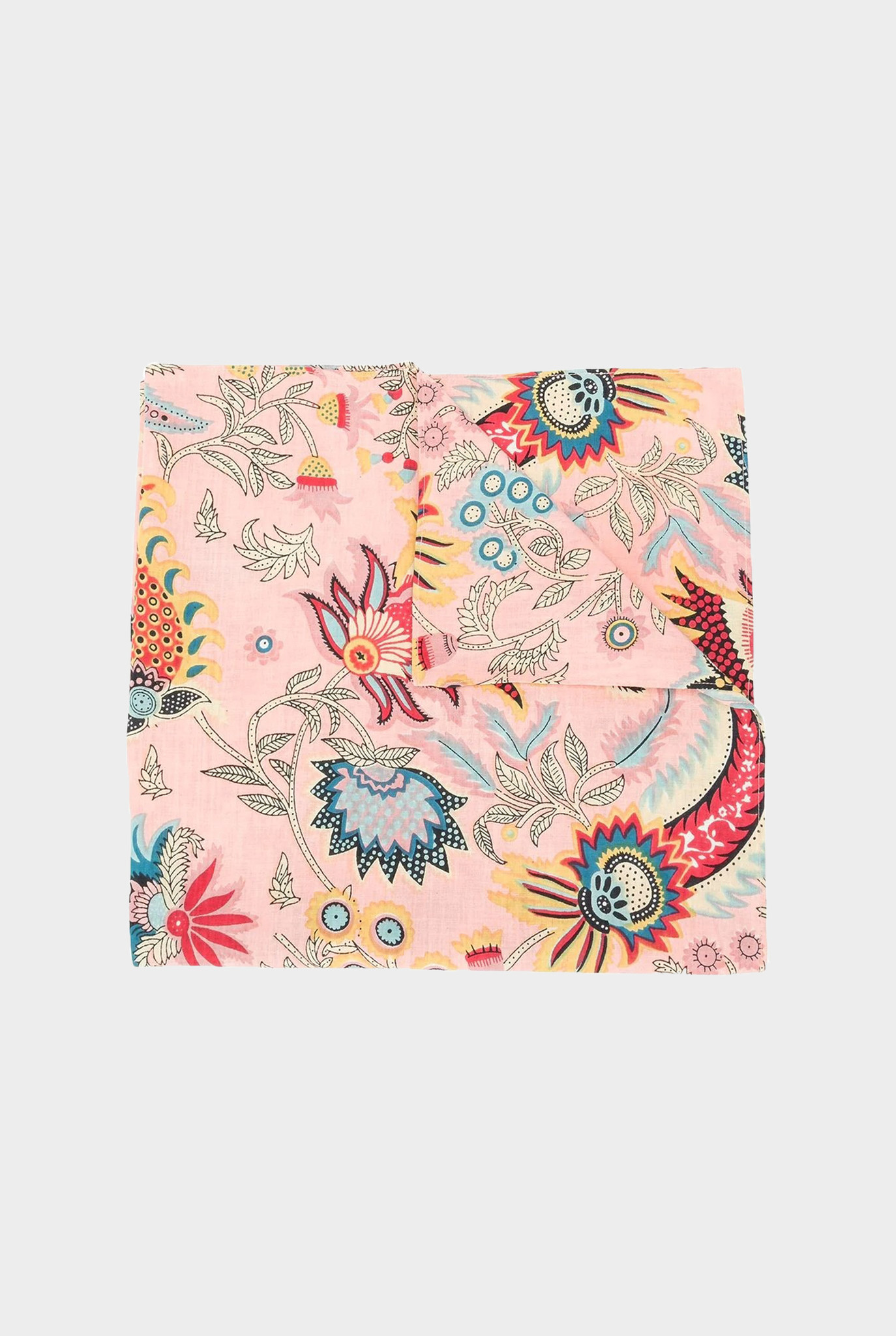 Klyde Tapestry Floral Scarf  Peach