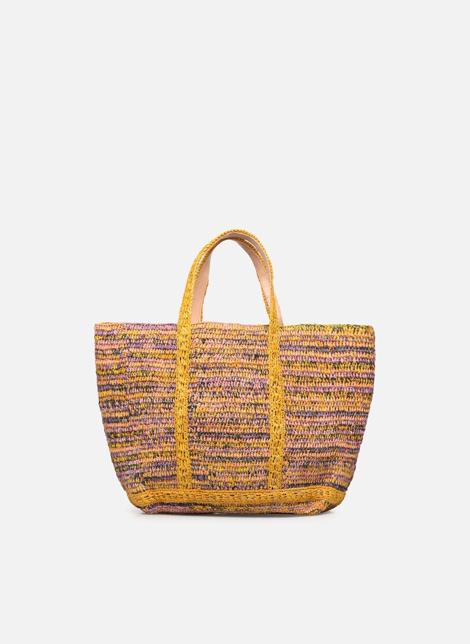 Cabas moyen bag multicolor yellow