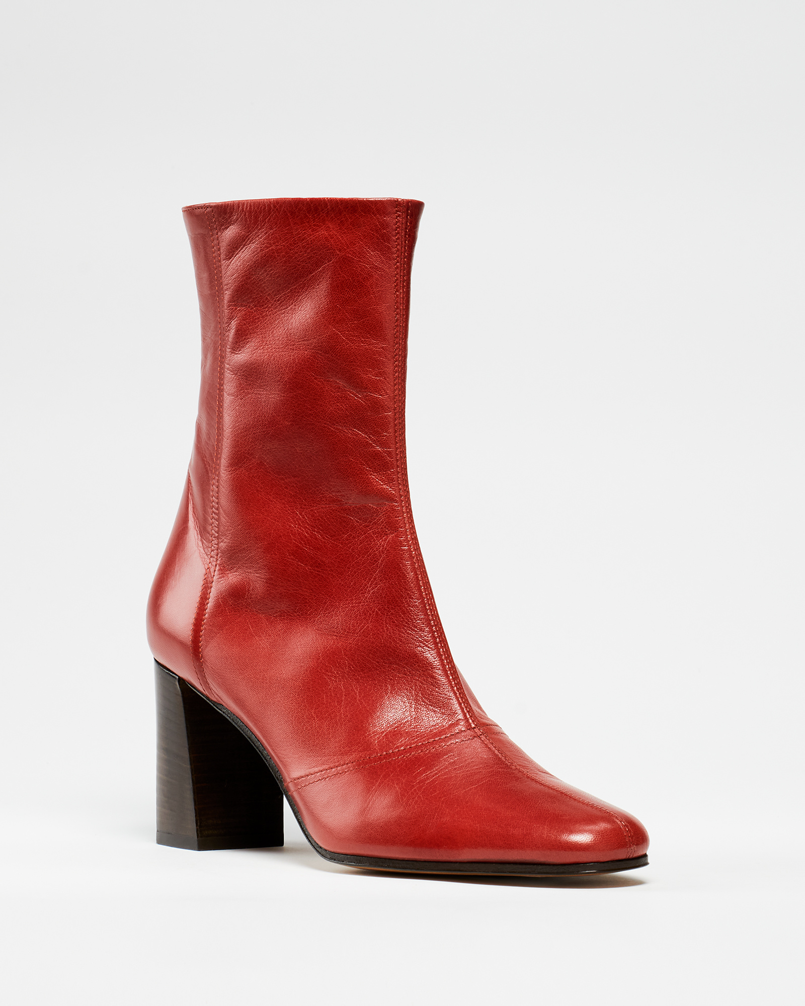 Fame Boots Red Laque de Chine