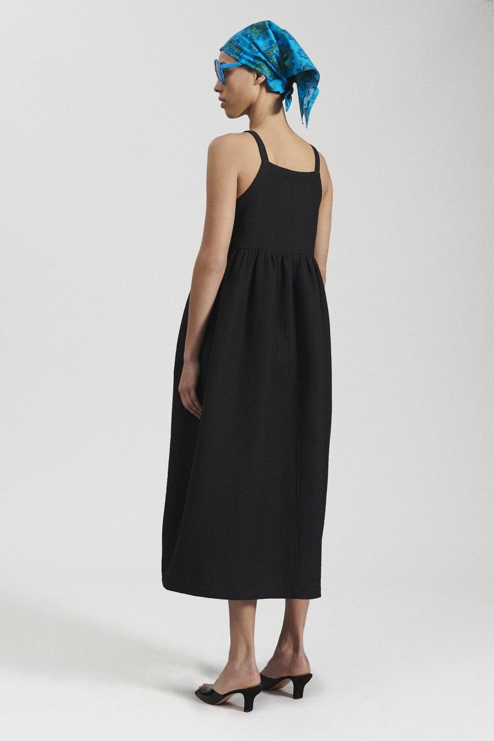 Fresco Dress Black