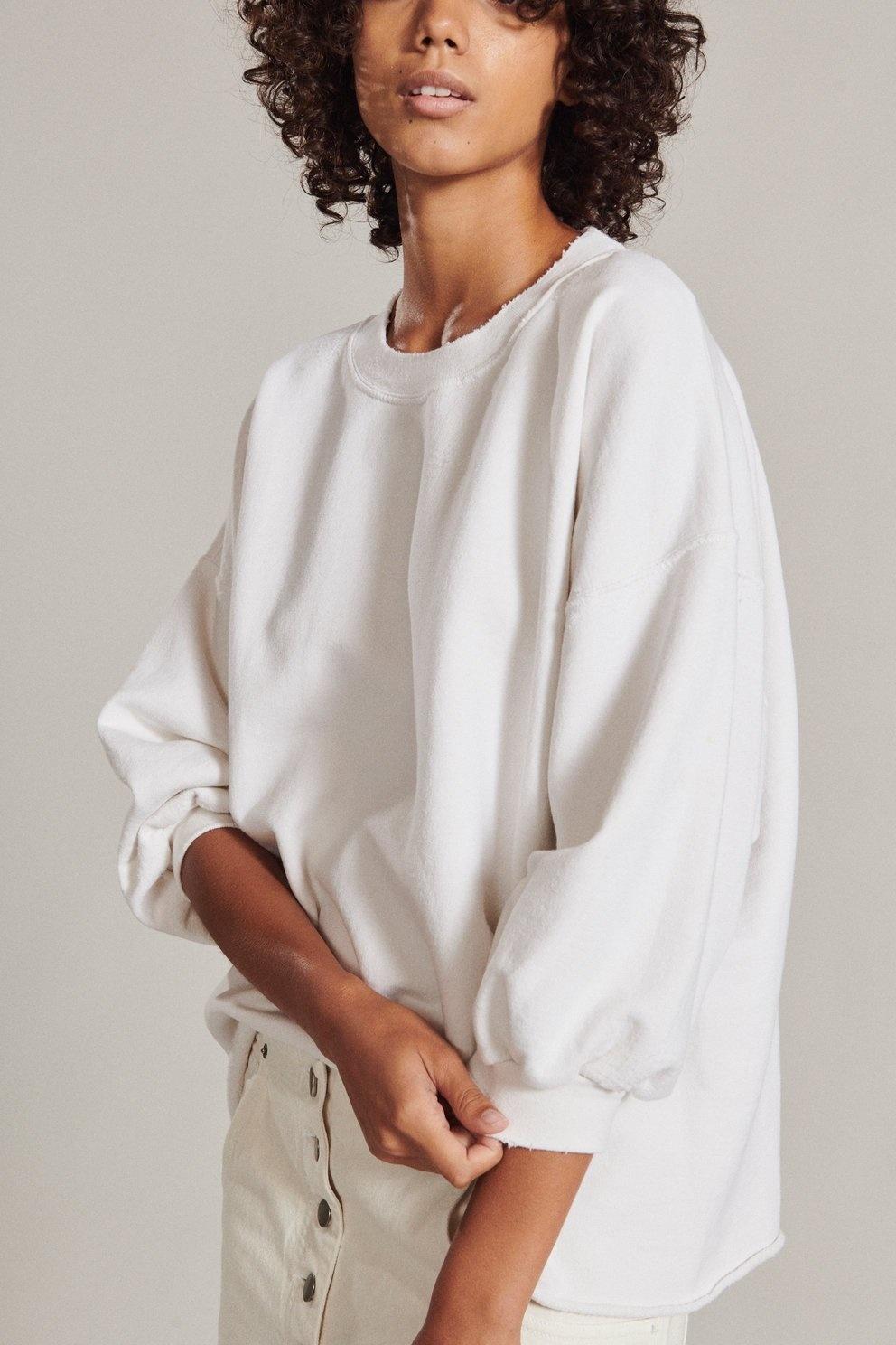 Fond Sweatshirt Dirty White