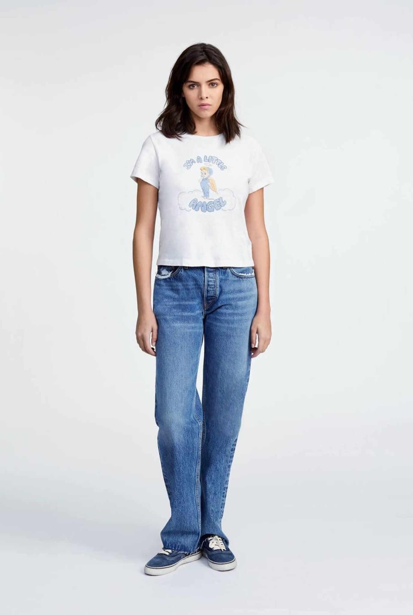 90s Comfy Jeans Chilled Indigo