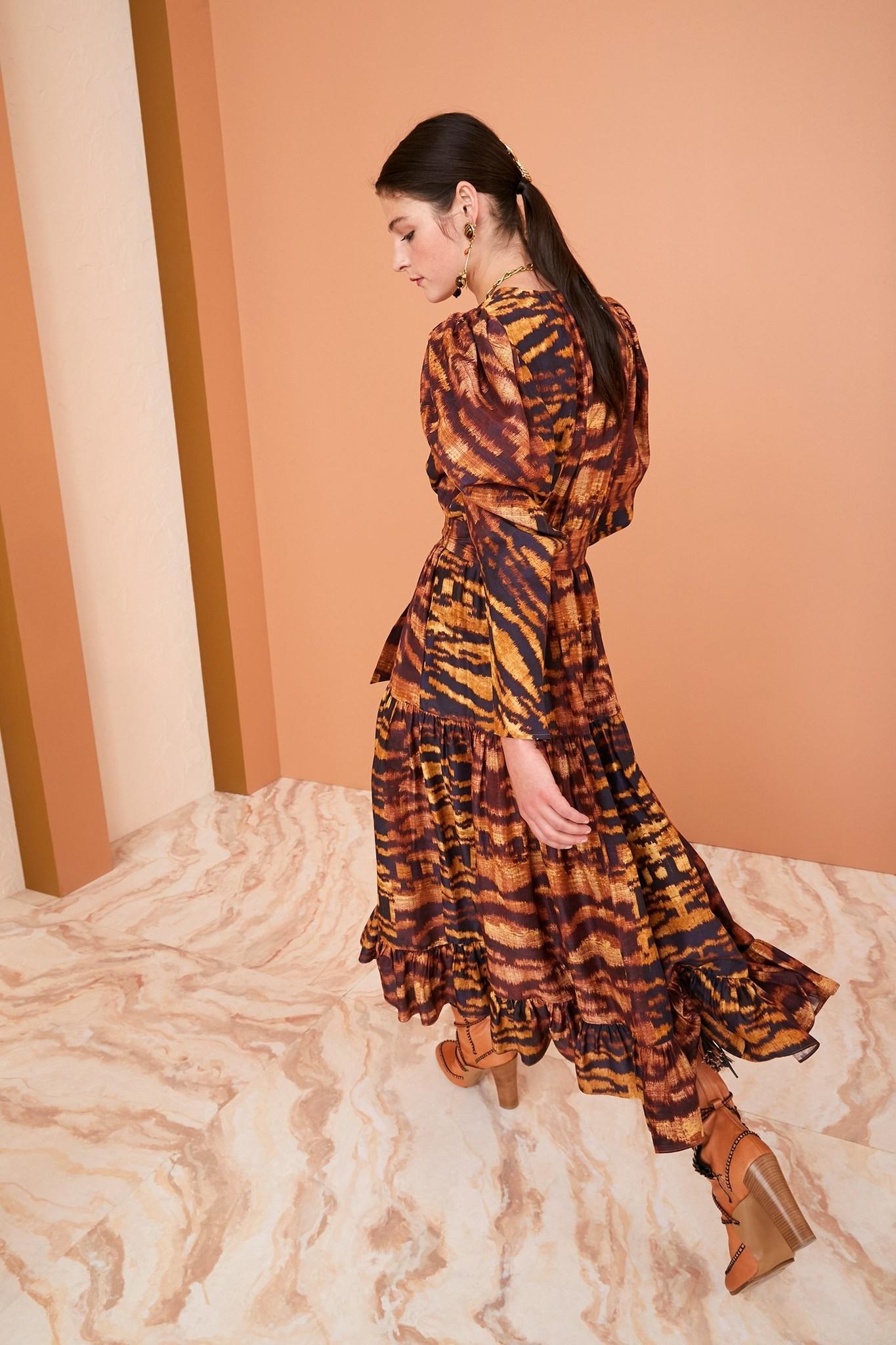 Leyla dress Acacia