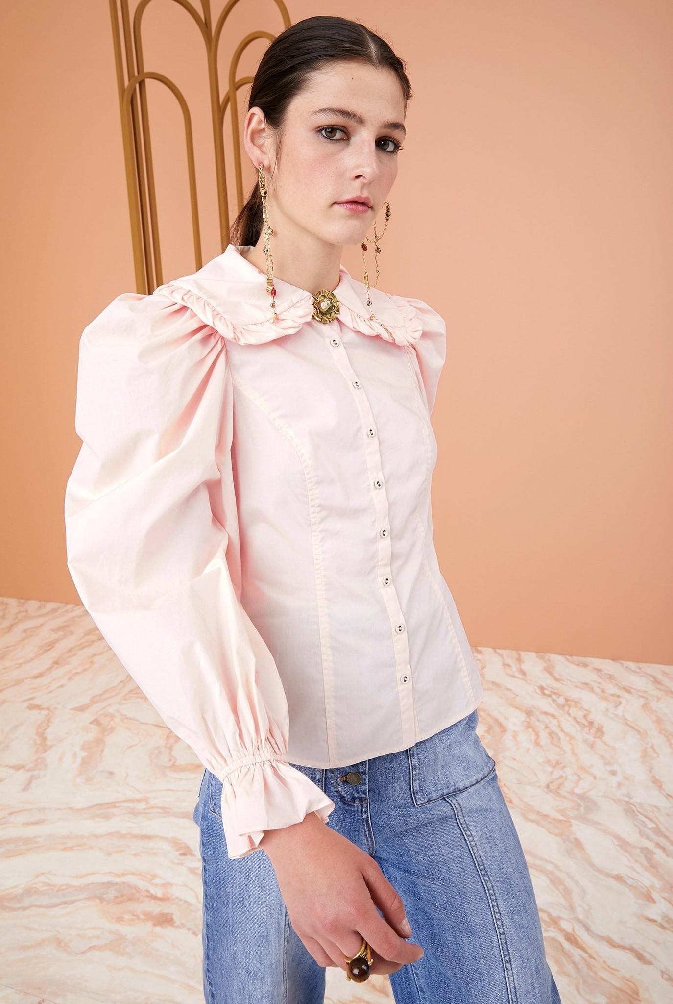 Marietta blouse Dogwood
