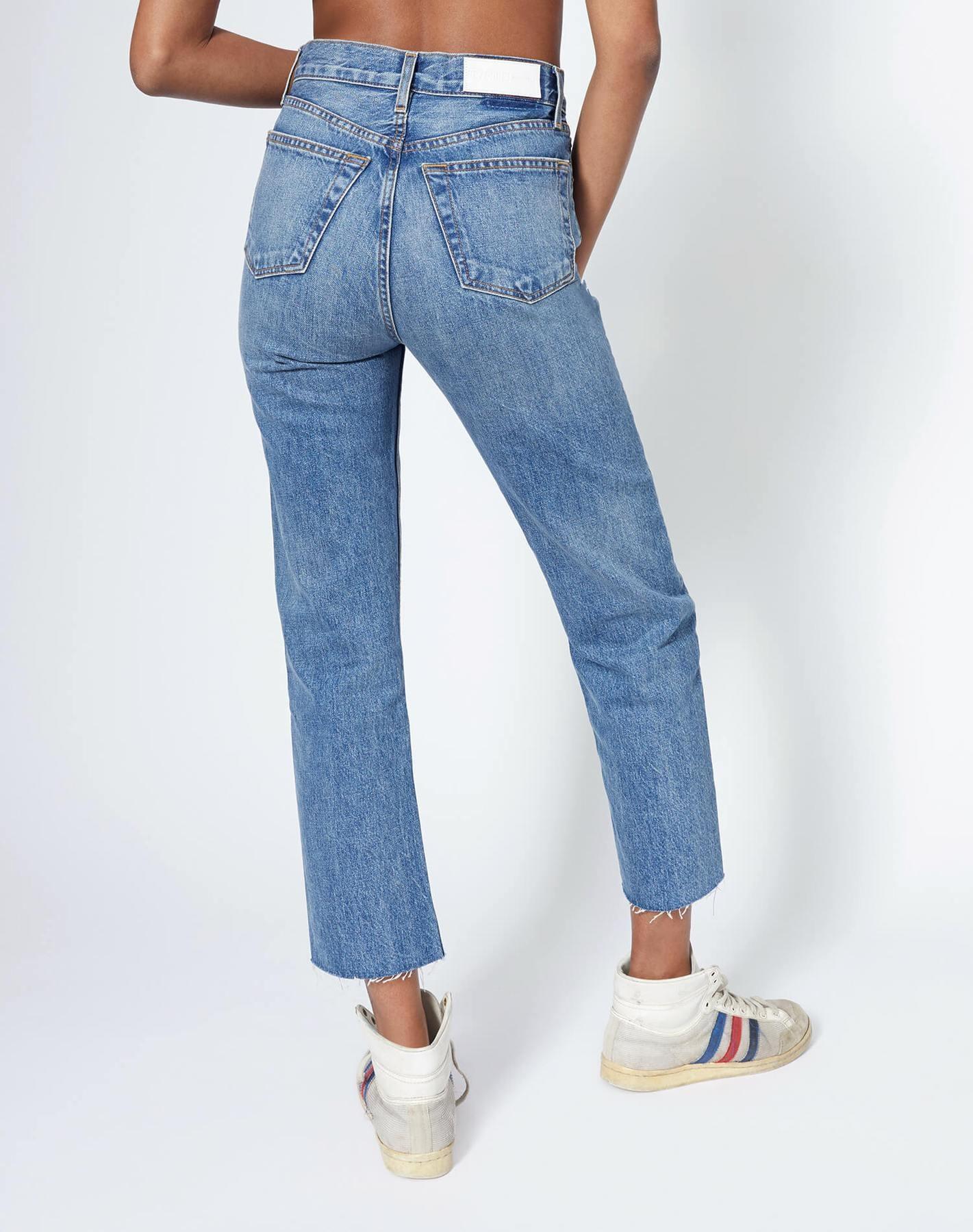 70s Stove Pipe Jeans Medium Vain