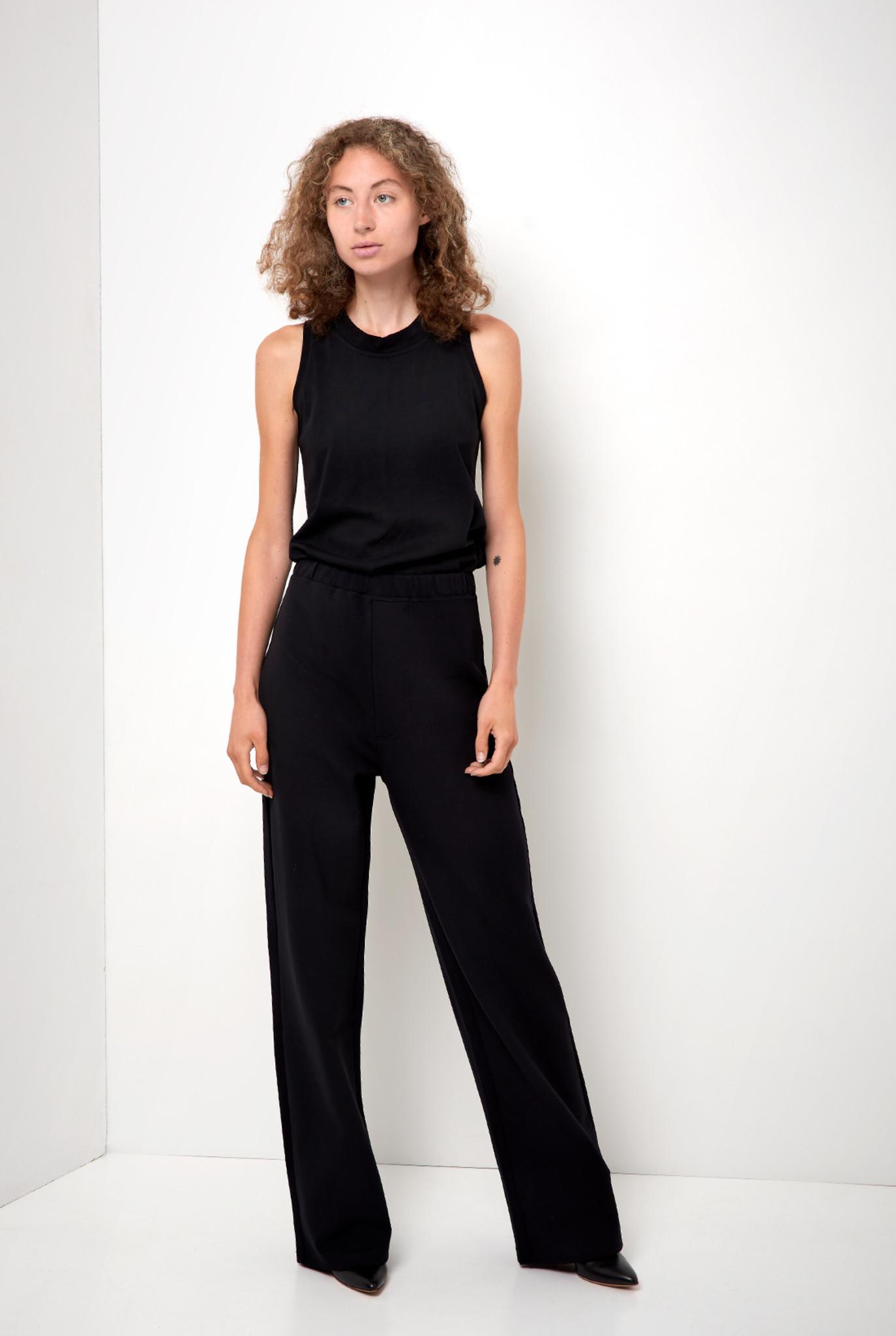 Sailorette Trouser Black Lycra