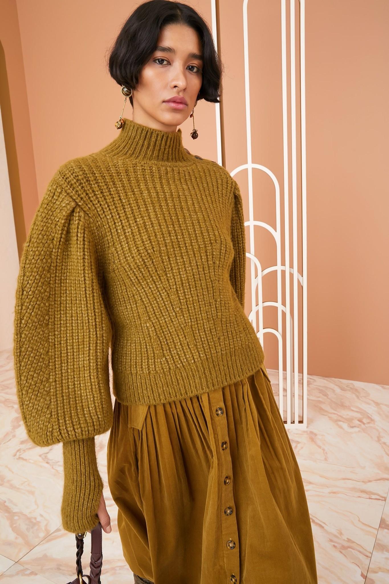Alana pullover Tapenade