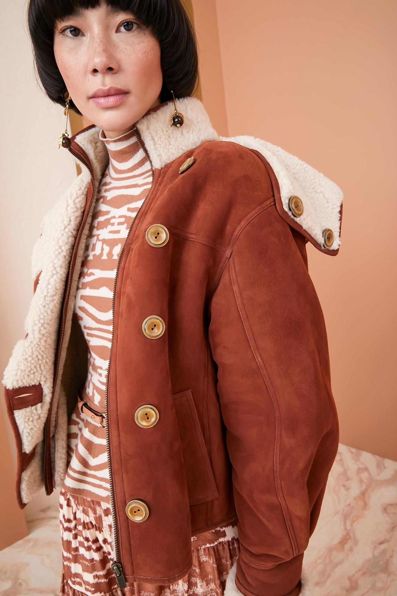 Robbie jacket Rust