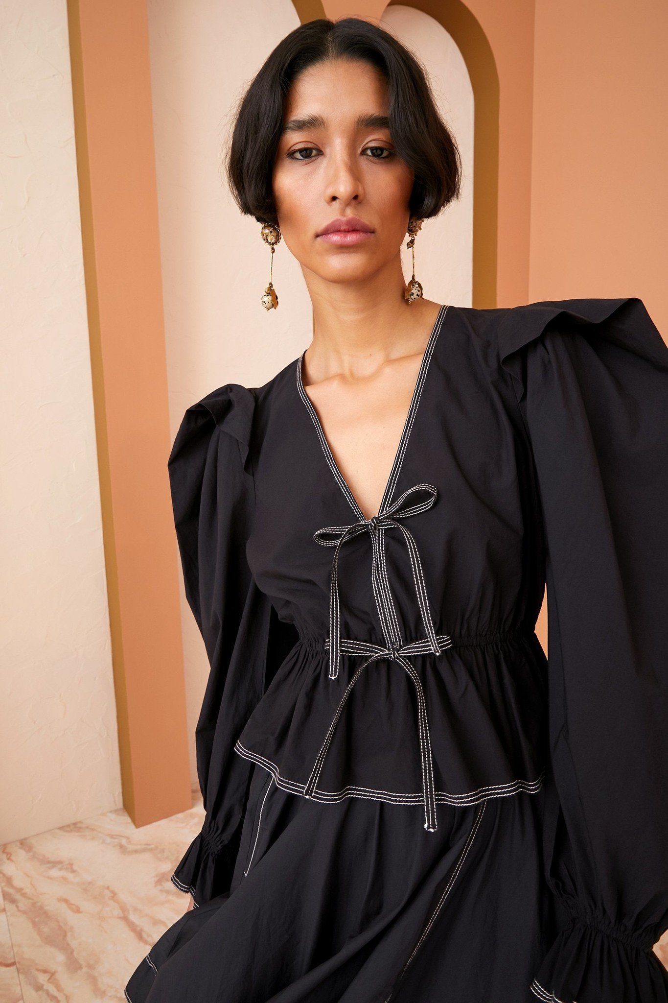 Sabina blouse Raven