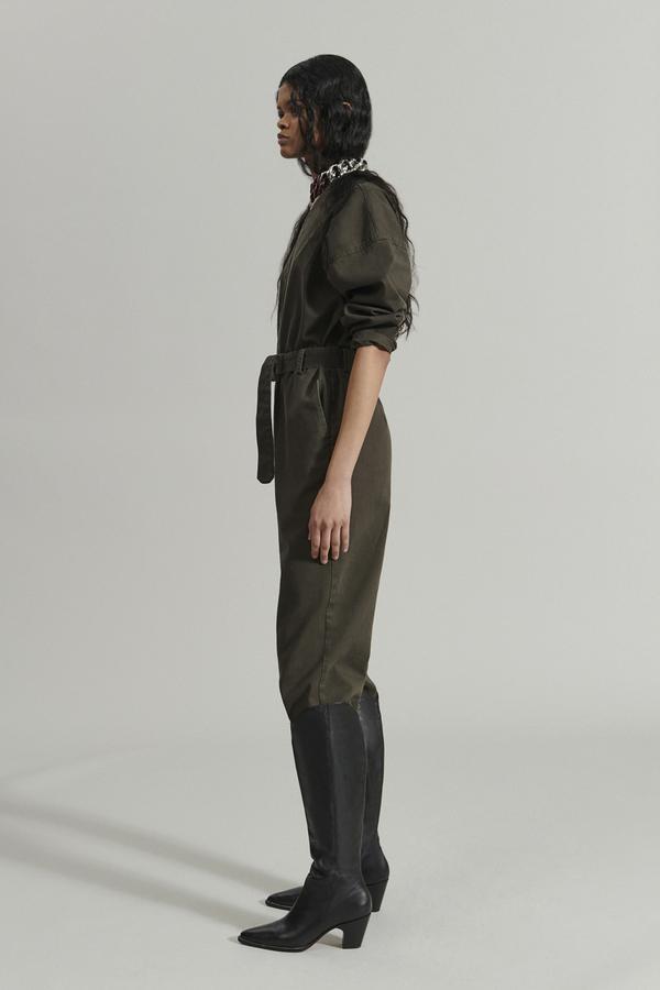 Glitch jumpsuit Olive