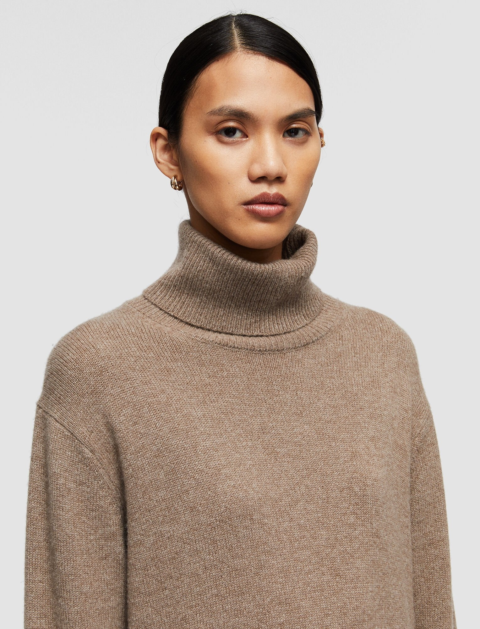 Pure Cashmere dress Taupe