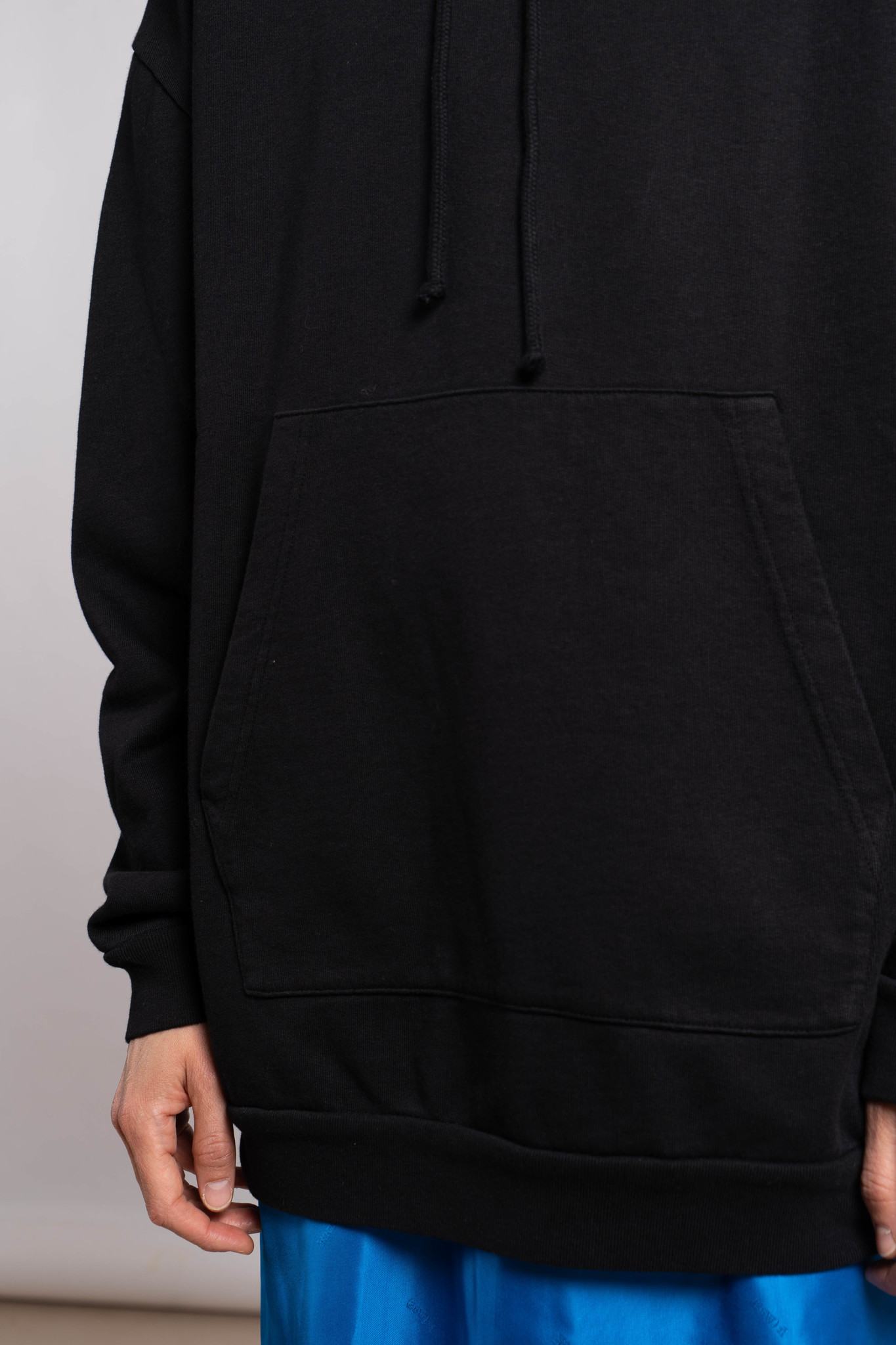 Hoodie French Terry Black