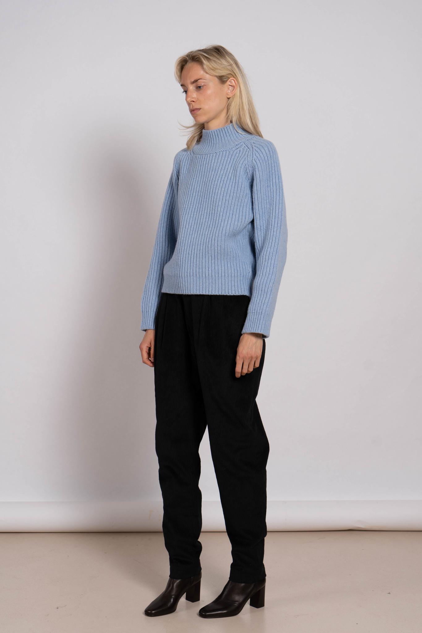 Female Sweater 'Alina' Hibiskus Light Blue