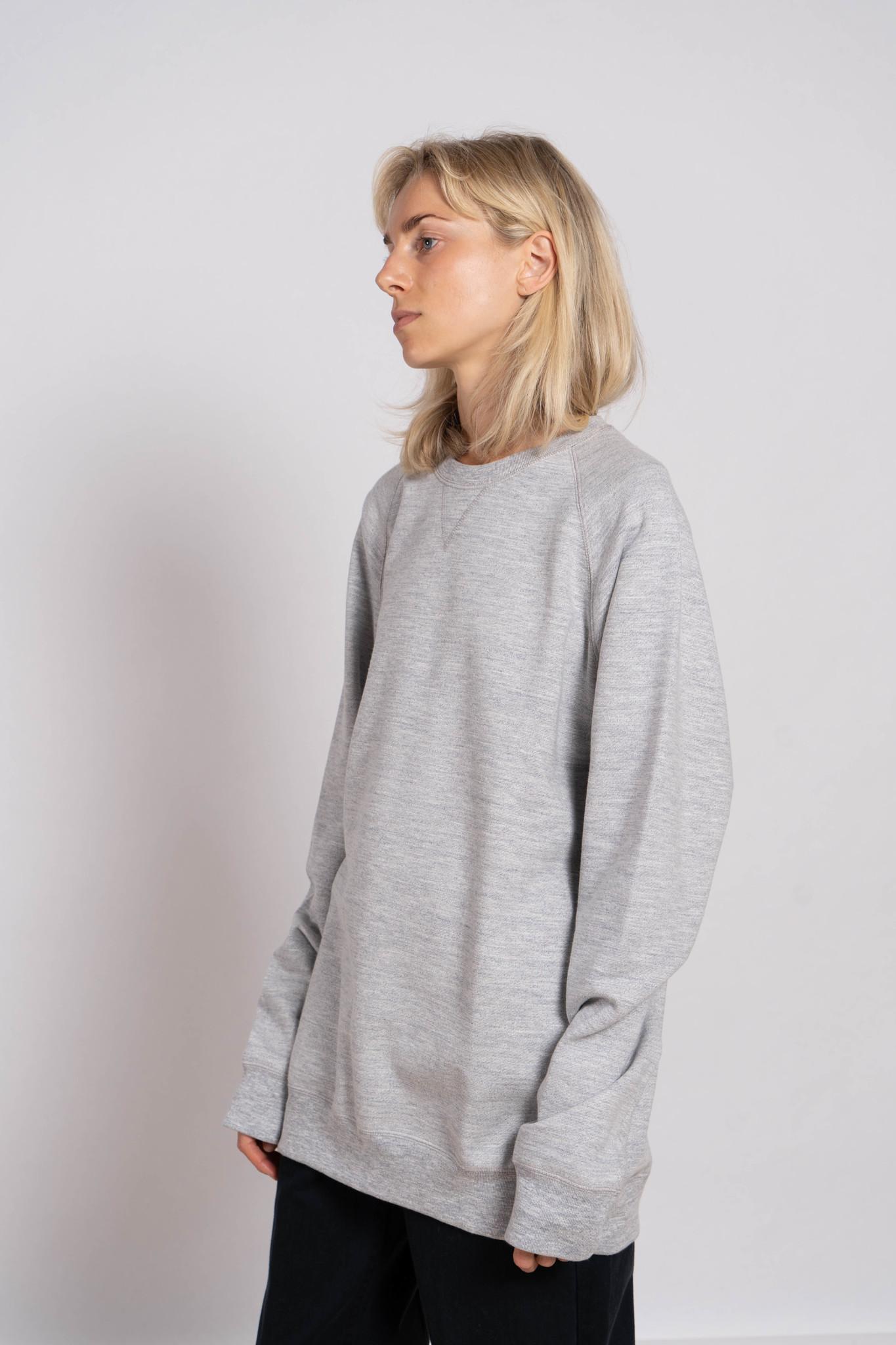 Joe Sweater Grey Melange 'Ibiza Ski Club'