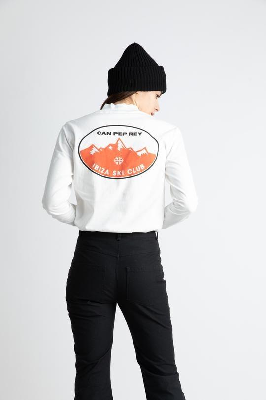 High Neck Milo Sweatshirt 'Ibiza Ski Club'