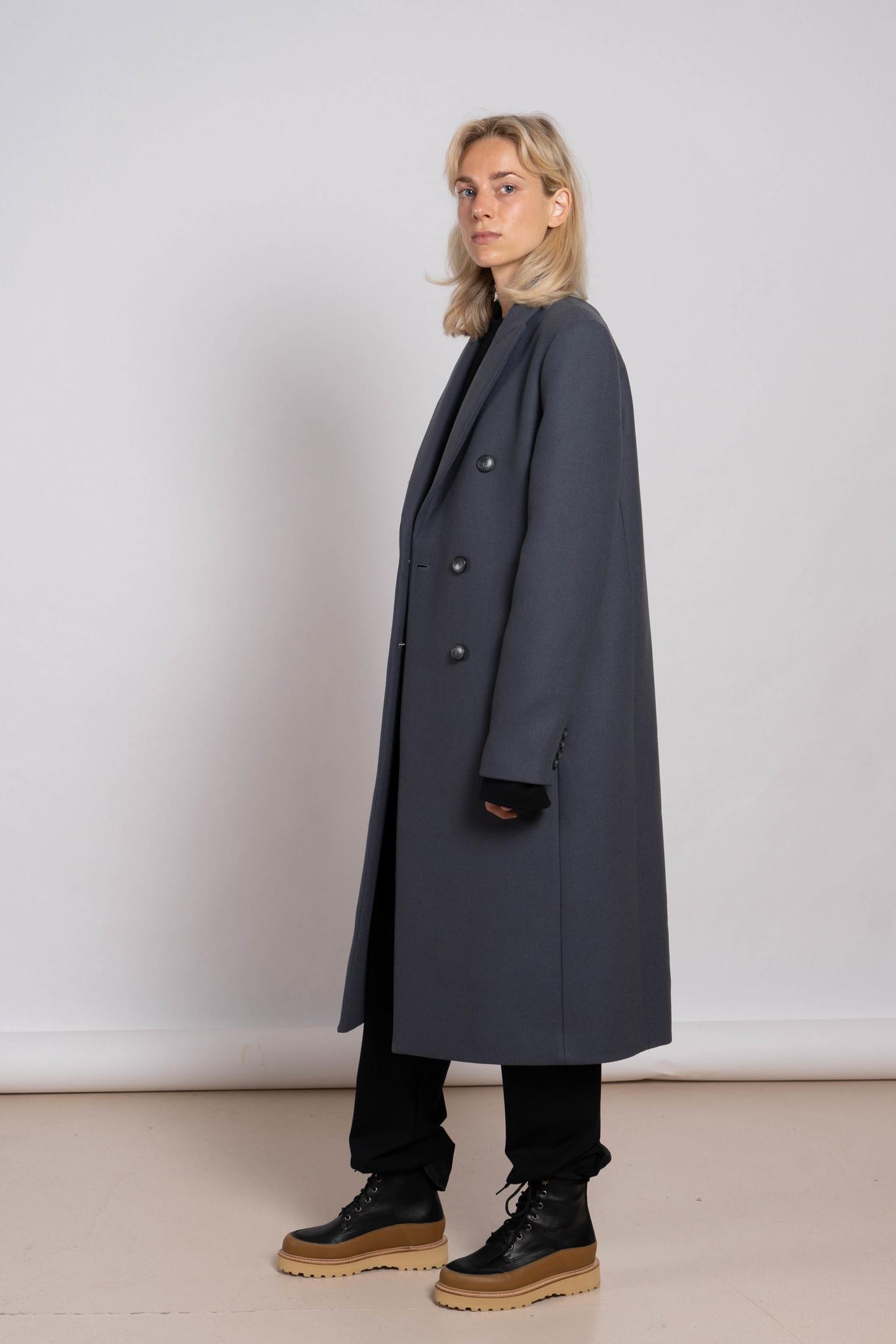 Camia Coat Shadow
