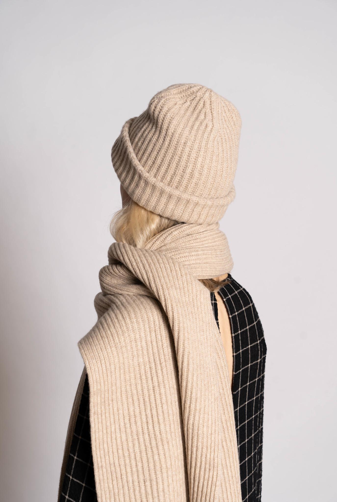 Hat Cardigan Stitch Sandshell