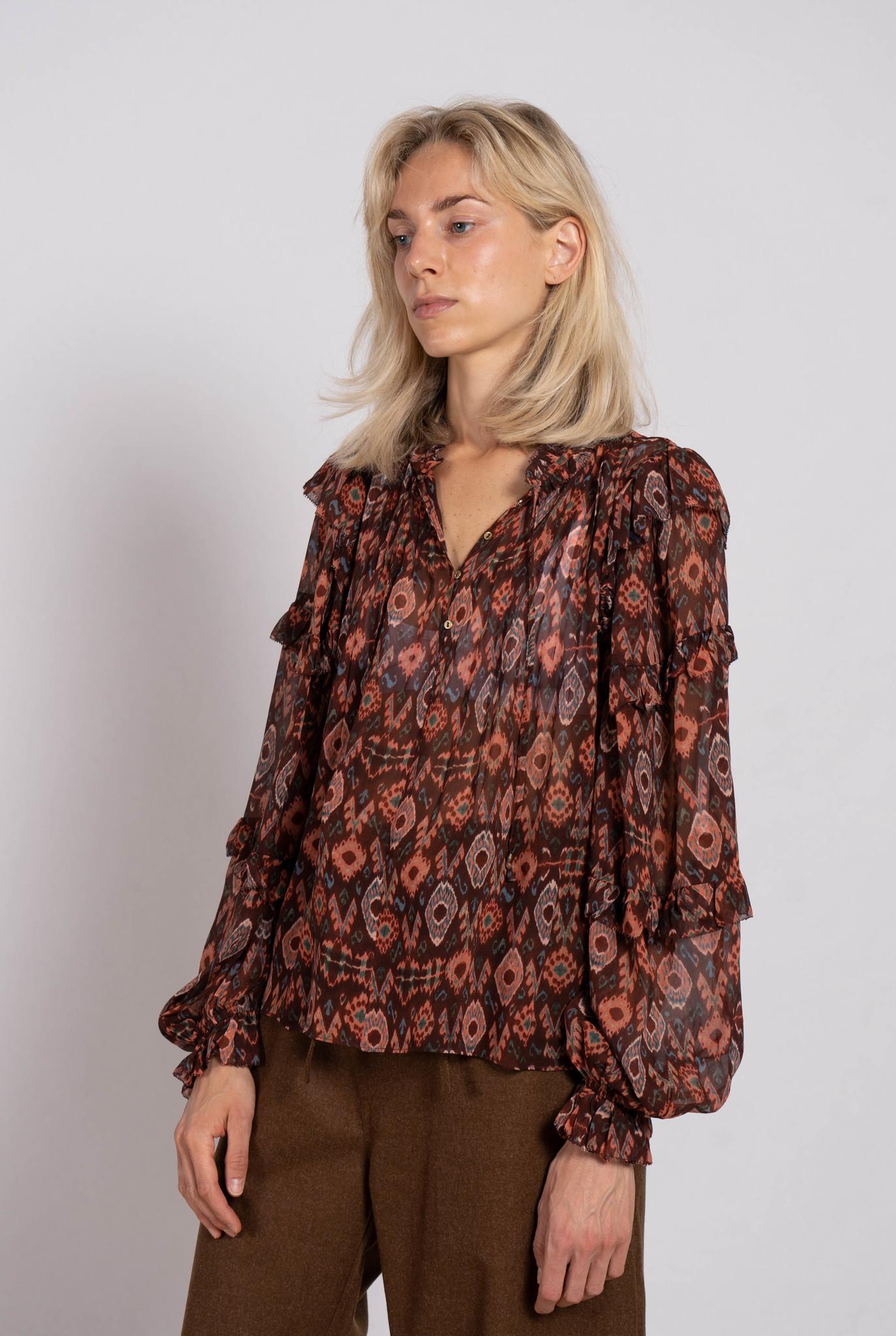Miray blouse Garnet