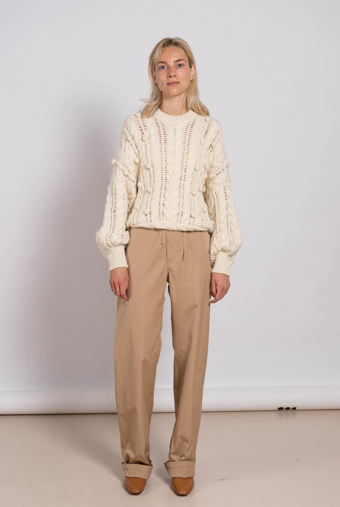 John Trouser Beige Cotton