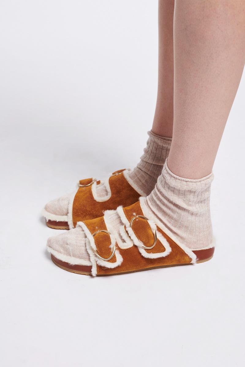 Fussbet sandal caramel