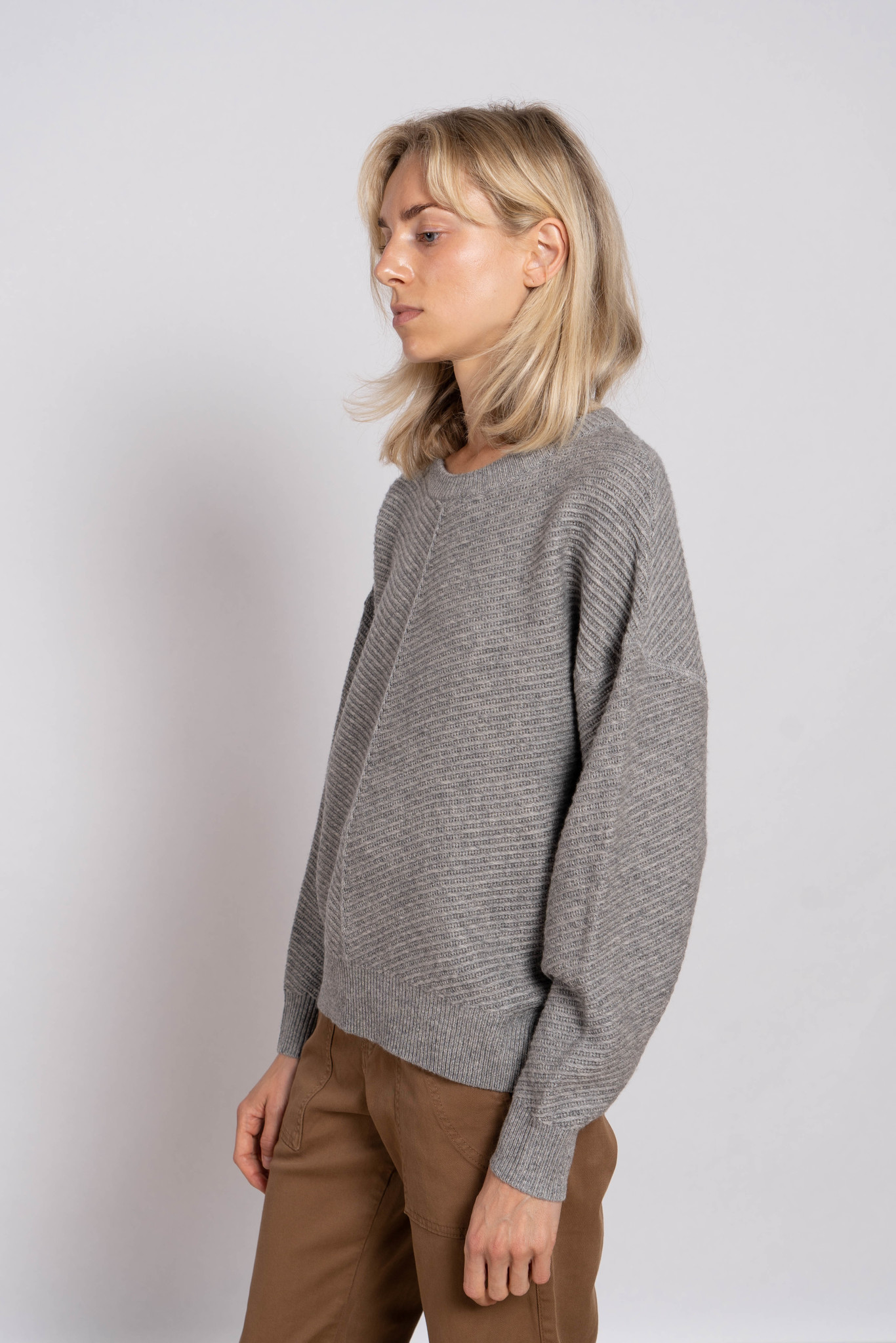 Solea sweater gris chine