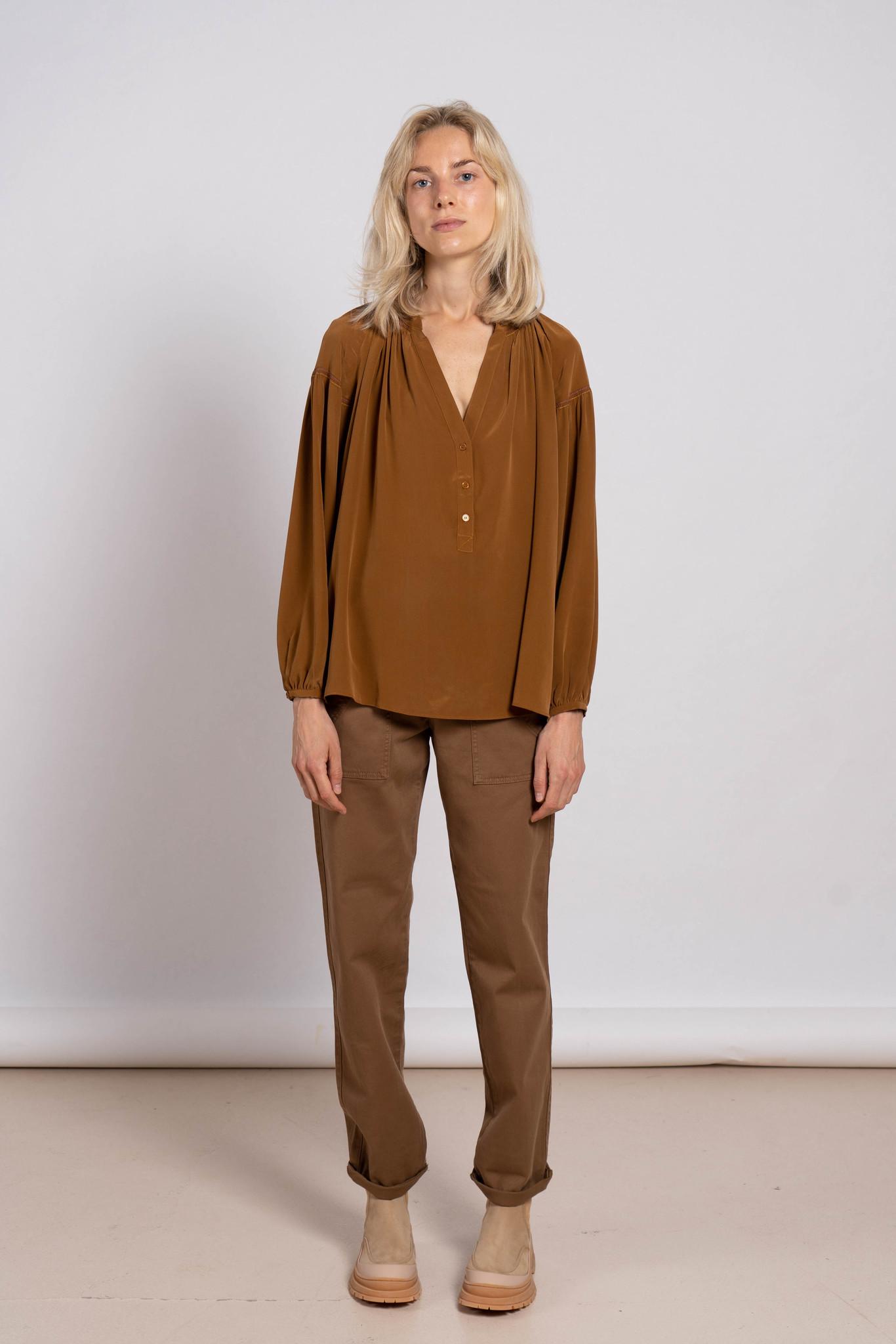 Nipoa blouse ocre