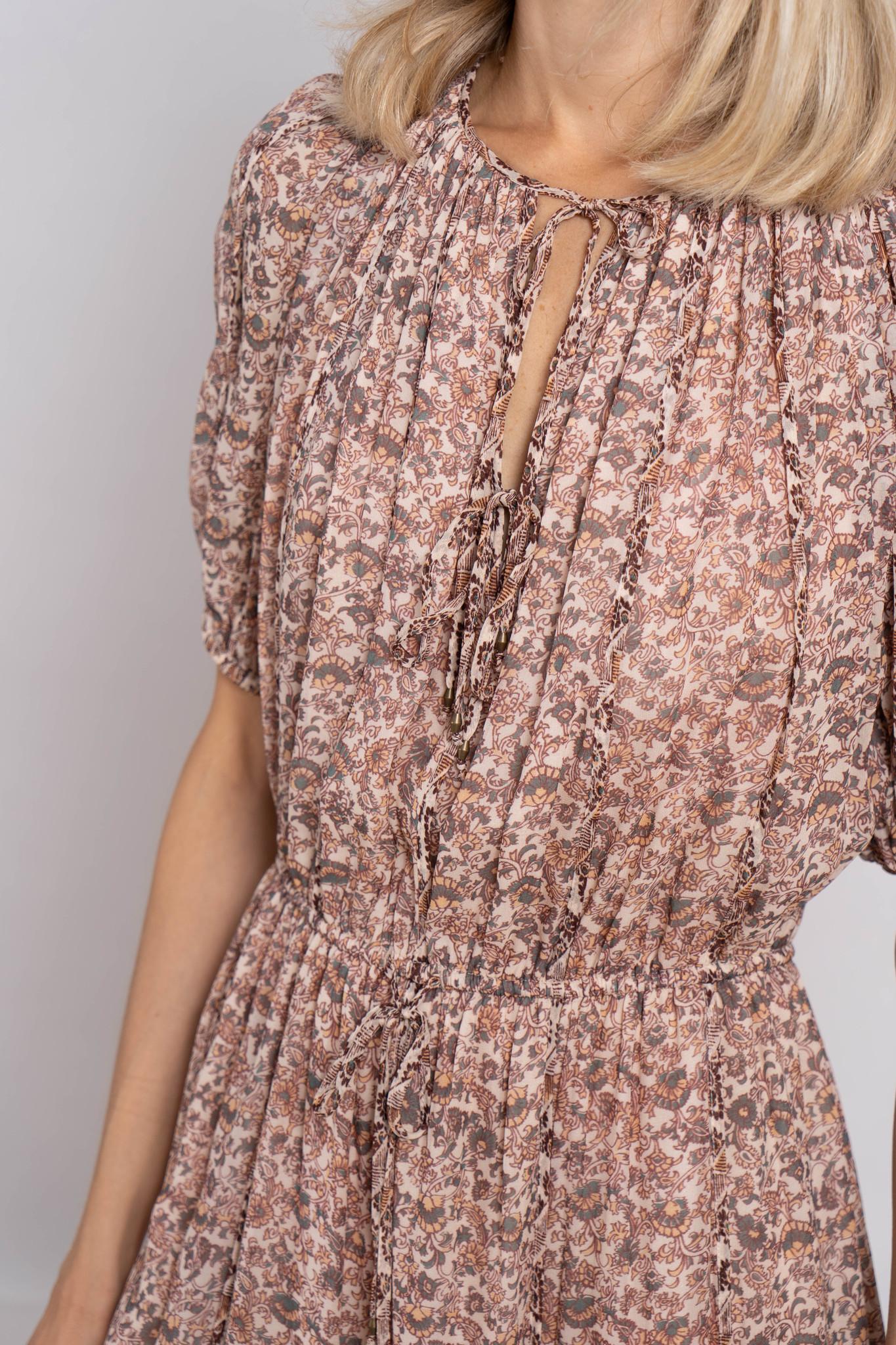 Berenice Dress Gardenia