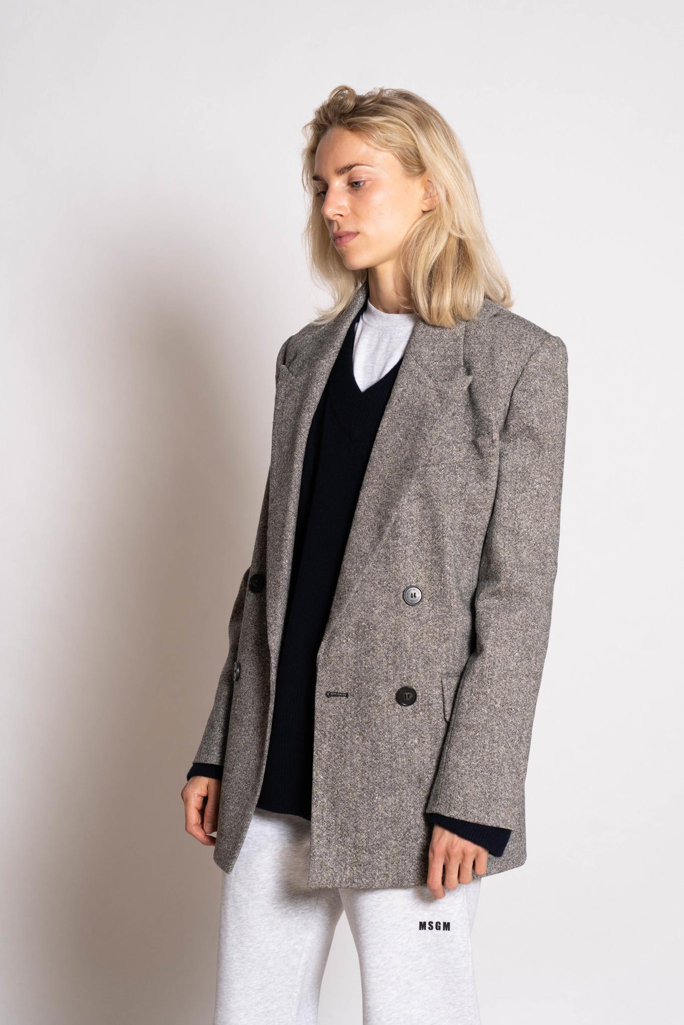 Joe jacket beige noir
