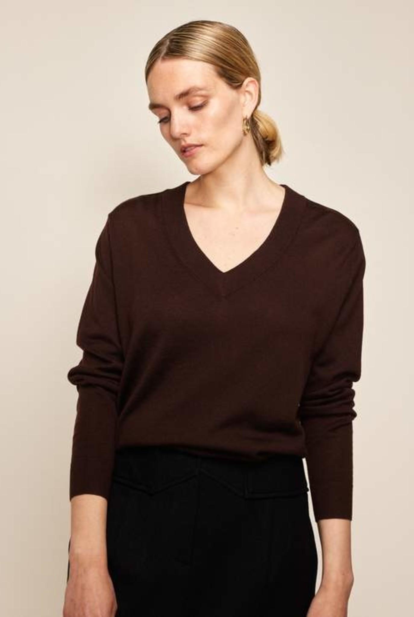 Meri maxi sweater Cafe