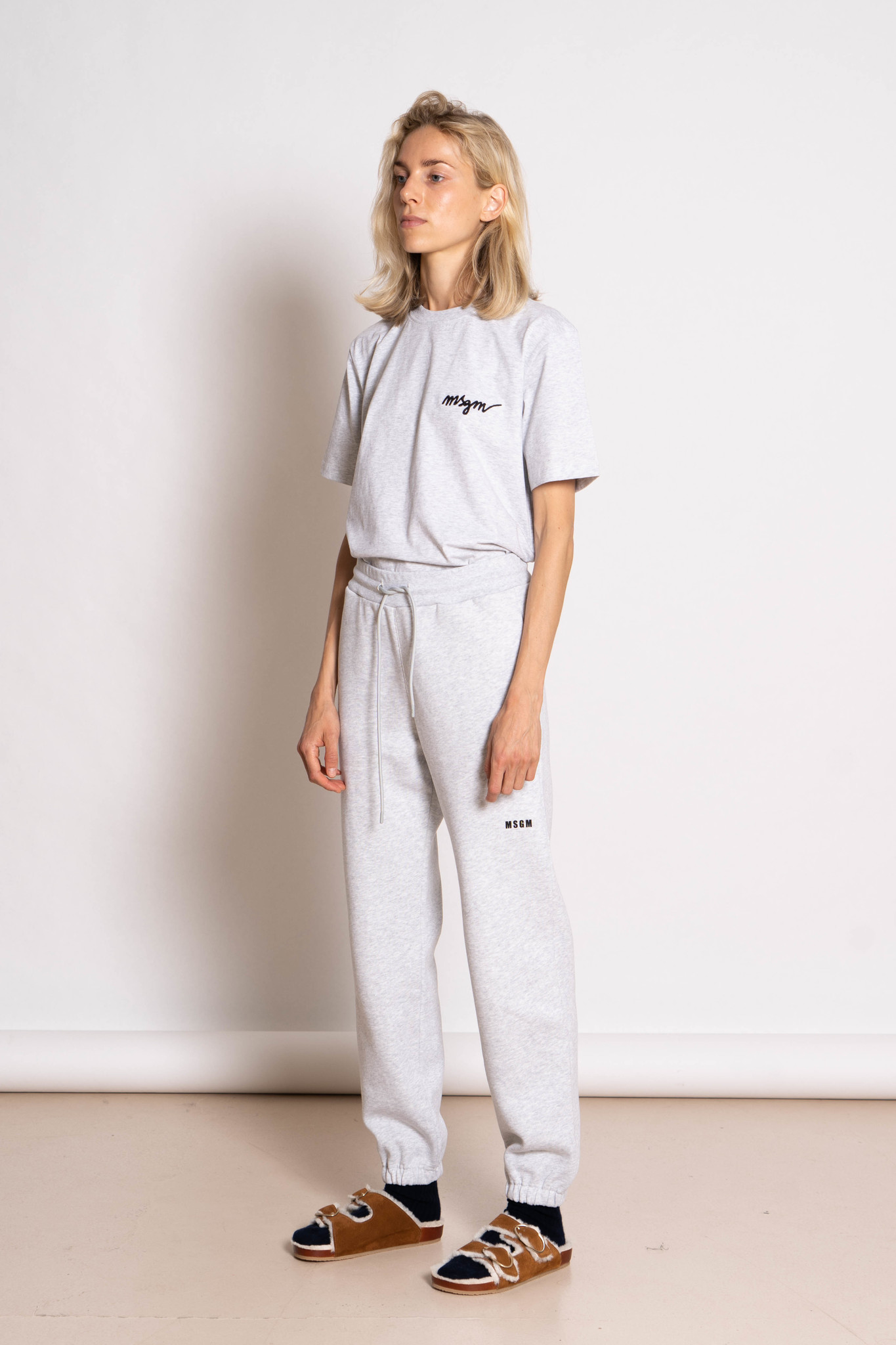 Jogging pants grey chine