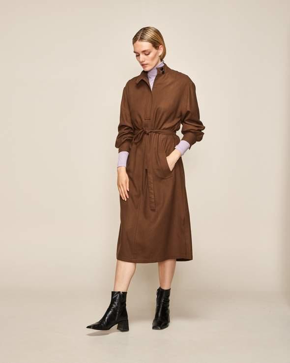 Verone dress chestnut