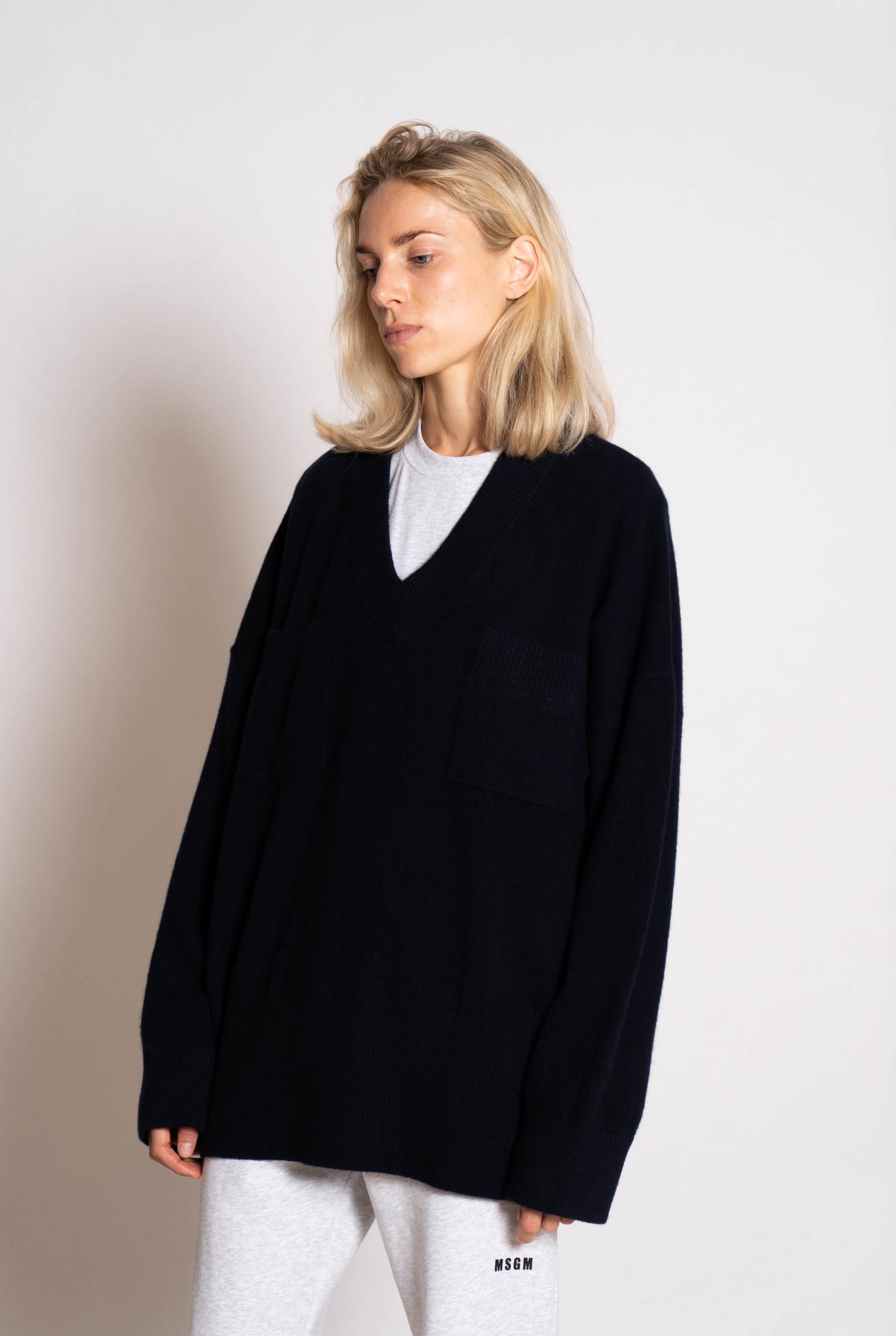 Cash Sweater Dark Navy
