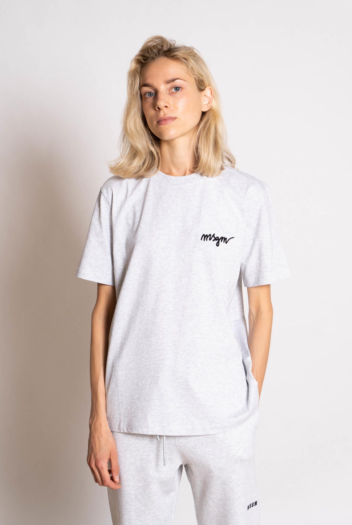 basic t-shirt grey chine
