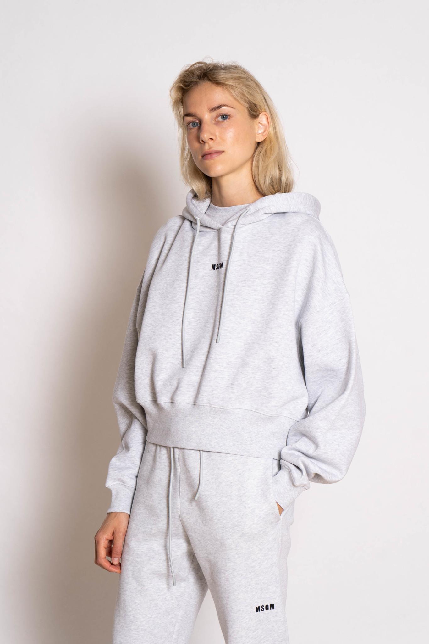 Felpa sweatshirt grey chine