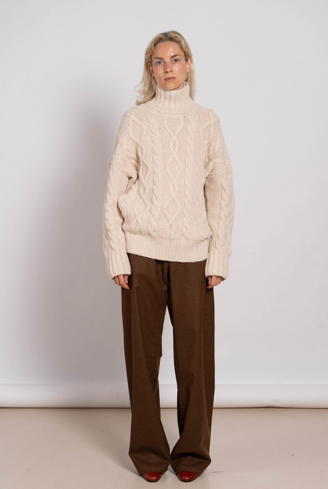 Sahel Sweater Ecru