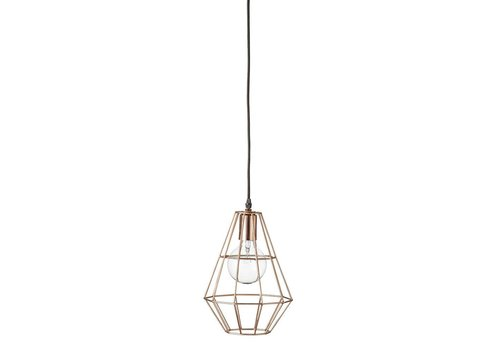Bloomingville Pernille hanglamp small koper